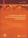 """Publicação Do Livro """"A Economia Da Corrupção Nas Sociedades Desenvolvidas Contem…"""