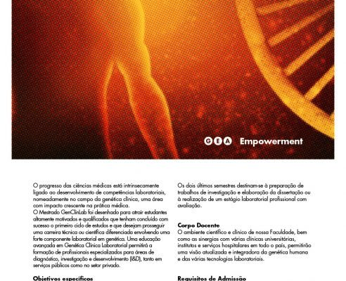 Mestrado Em Genética Clínica Laboratorial – Agenda UC