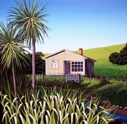 """Herekeke farmhouse"" Donna Massey"