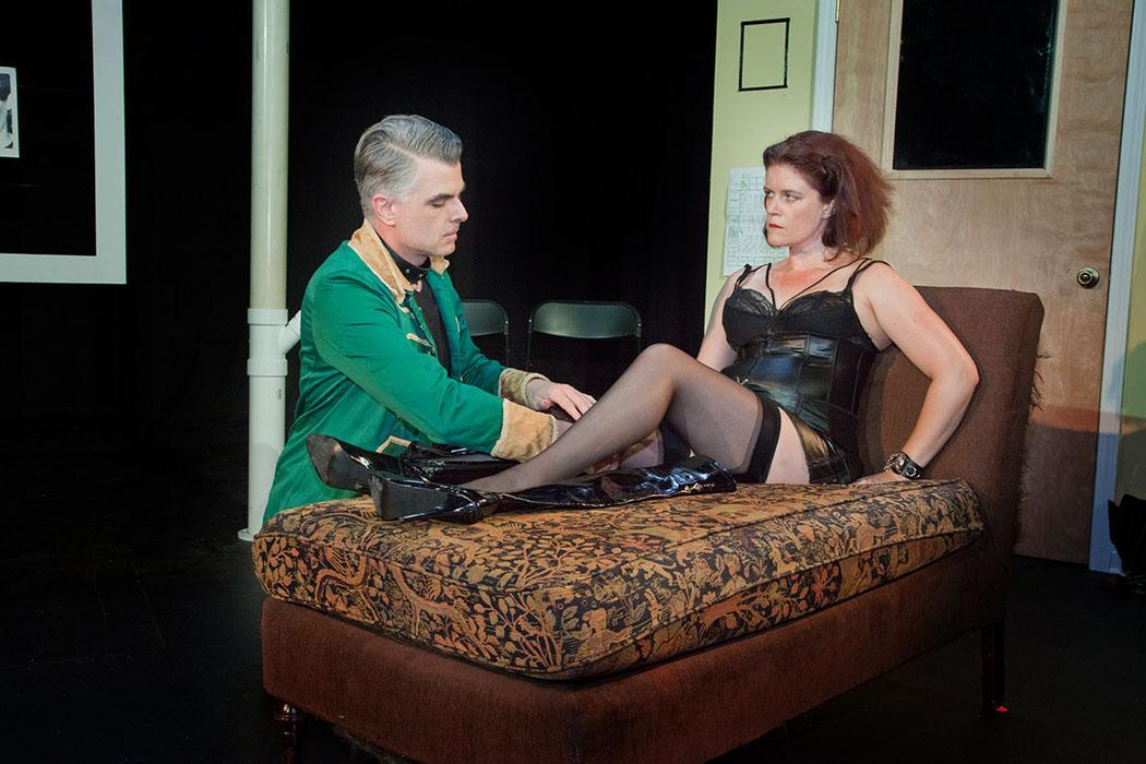 Review: 'Venus in Fur' At Flying Anvil Theatre