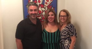 Misty Tompoles, Angela Niederloh and Matthew Hayward