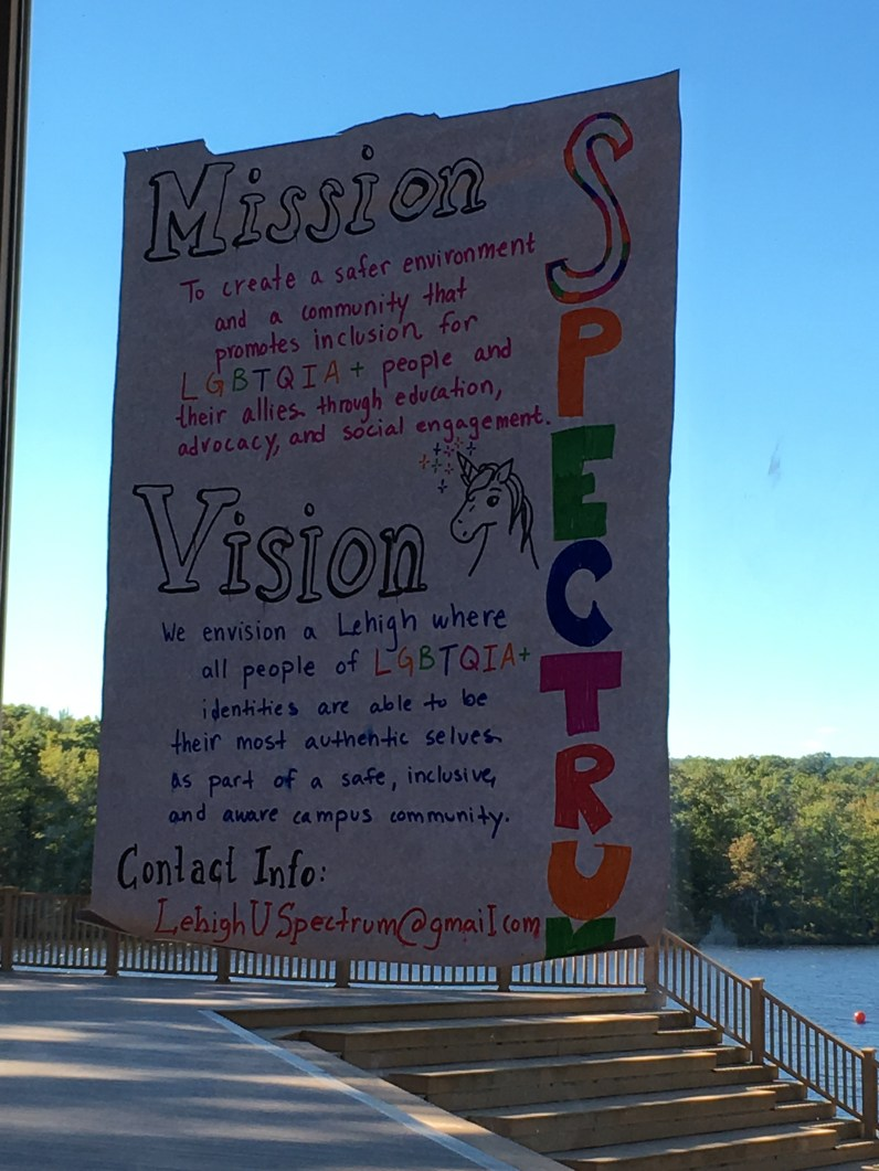 Our beautiful completed Mission/Vision poster