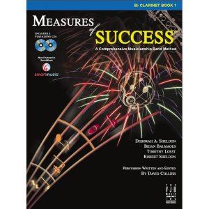 measures of success 1 clarinet