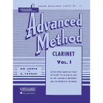 rubank adv vol 1 clarinet