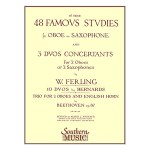 48 famous studies for oboe or sax-ferling