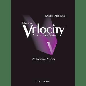 opperman advanced velocity studies clarinet