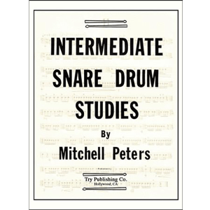 intermediate snare drum studies-peters