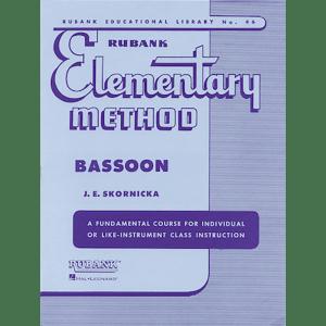 rubank elementary bassoon