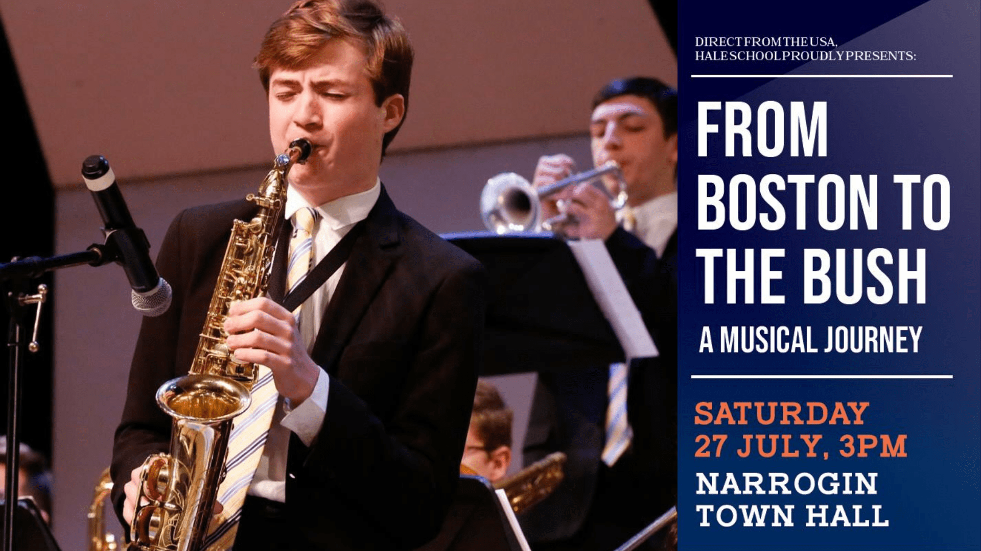 Hale School presents 'From Boston to the Bush: A Musical Journey'