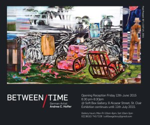 Exhibition Between Time by Andrea C. Hoffer at Softbox Gallery