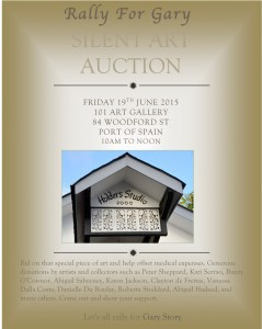 Silent Art Auction at 101 Gallery; June 19th 2015