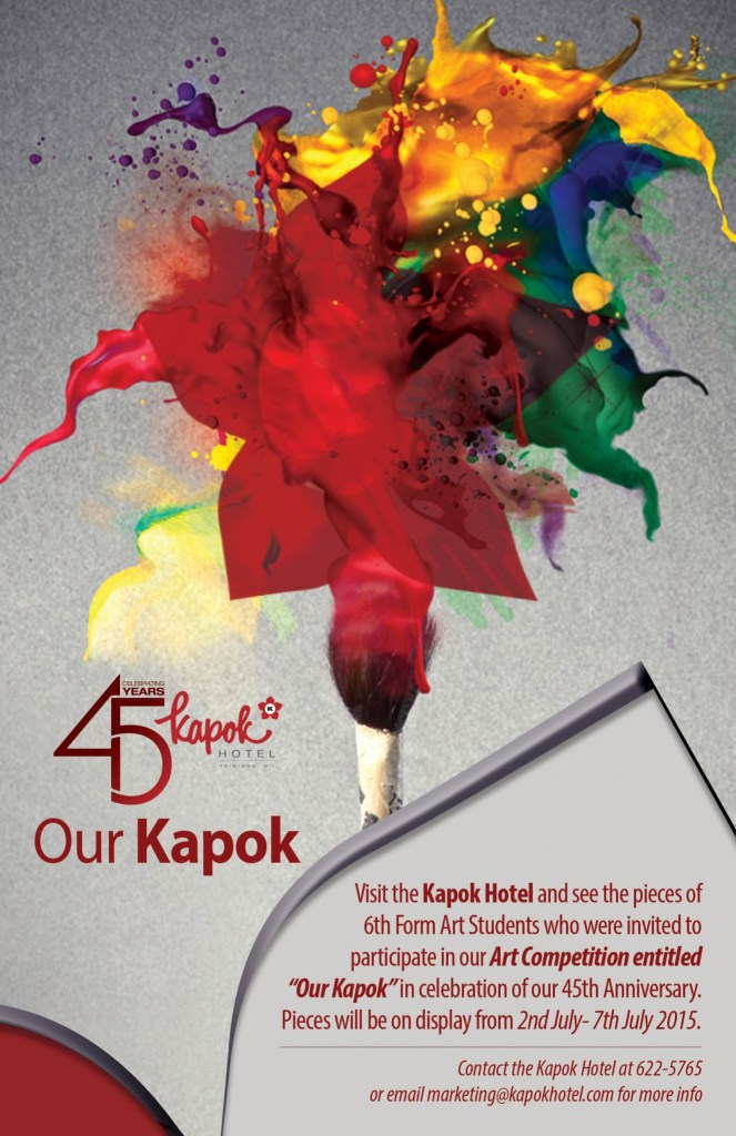 Our Kapok Exhibition July 2015