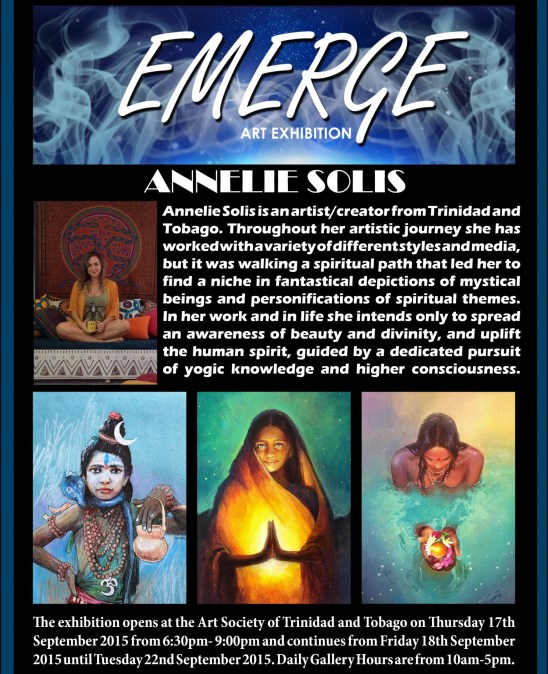 Emerge art Exhibation pr3(Annelie Solis)