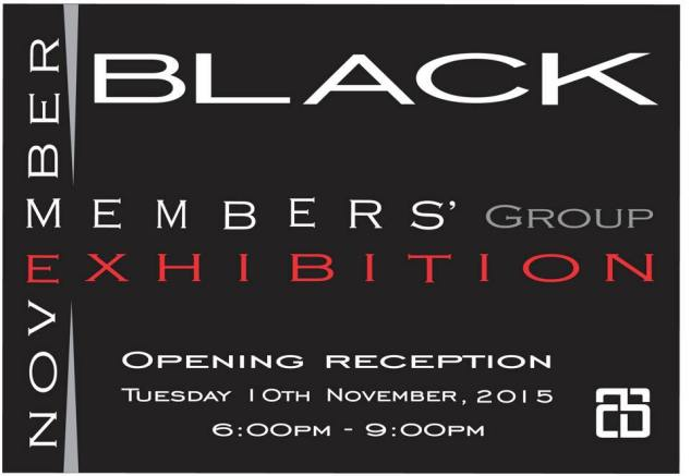 Nov 2015 exhibition Black