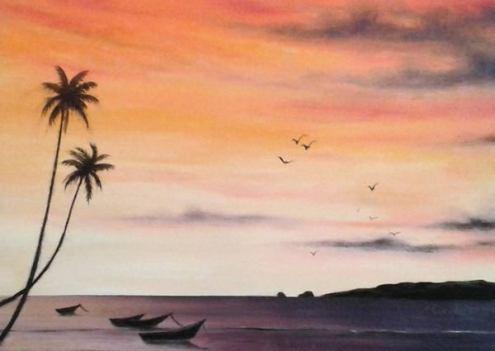 Sunset Seascape - Marsha Bhagwansingh