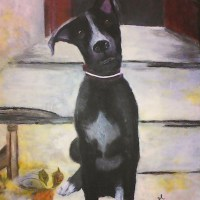 Blackie The Pot Hound - WAHEEDA RAMNATH