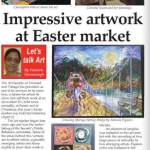 In Media – Impressive Artwork At Easter Market