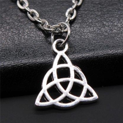 Celtic Triquetra Knot Pendant Necklace