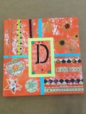 Mixed Media Monogram