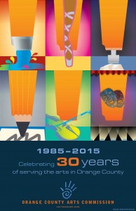 OCAC's 30th Anniversary Poster by Michael Brady