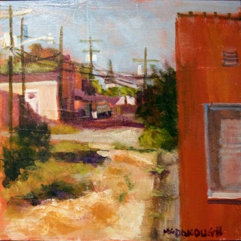 "First Place: ""The Alley"" by Jo Anne McDonough"