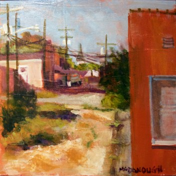 """First Place: """"The Alley"""" by Jo Anne McDonough"""