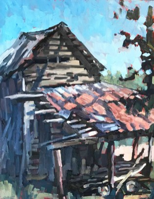 """First Place: """"Finley's Shed"""" by Ben Hamburger of Carrboro, NC"""