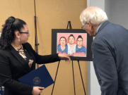 Melissa Ordonez Gonzalez and Congressman David Price