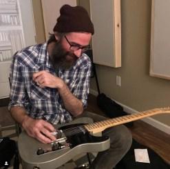 Nathan Golub and guitar