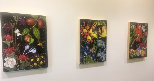 """""""Jujubbe"""", """"Frog"""", and """"Cuckoo"""" from Anne Lemanski's Five Print Series """"In the Garden"""""""