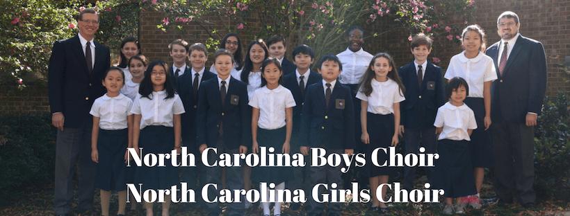 North Carolina Boys Choir and North Carolina Girls Choir