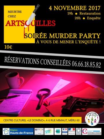 Affiche de la Murder Party