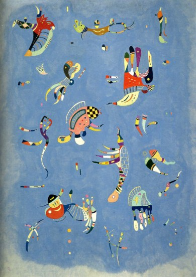 Bleu de ciel, 1940, huile sur toile, Centre George Pompidou (Paris)