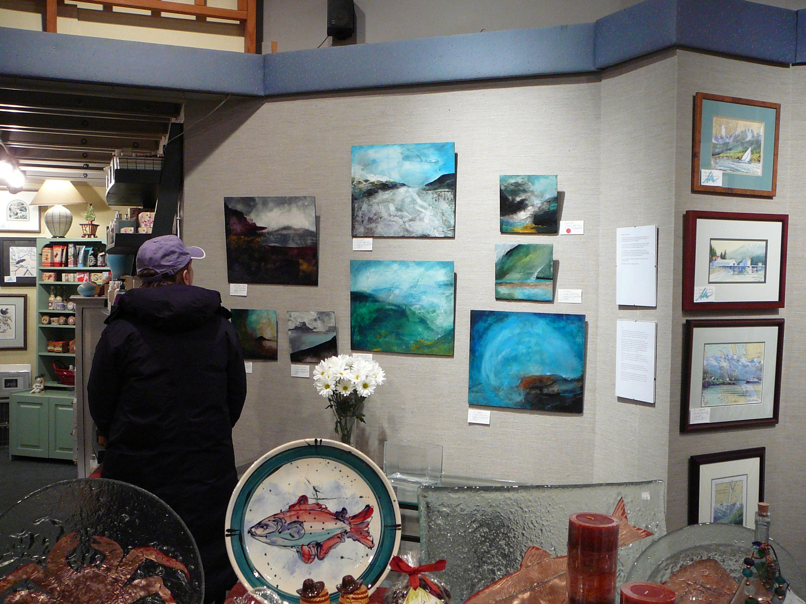Exhibit at Annie Kaill's 2