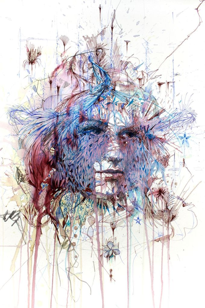 Range of Arts - Painting - Carne Griffiths - The Miracle