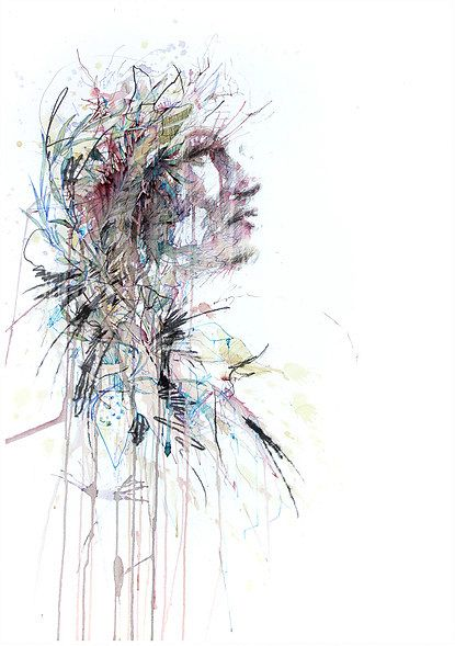 Range of Arts - Painting - Carne Griffiths - Waiting