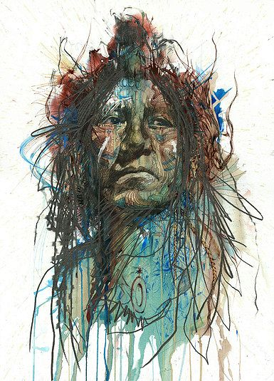 Range of Arts - Painting - Carne Griffiths - Wild Frontier