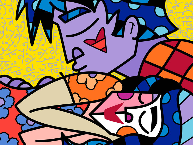 Range of Arts - Romero Britto - Fine Art Prints - Sleep Well