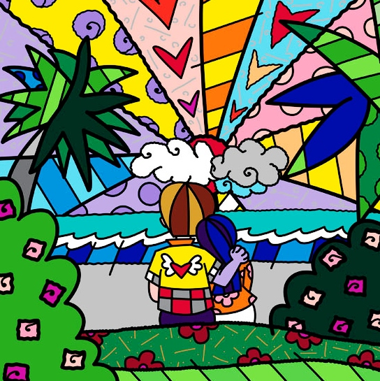 Range of Arts - Romero Britto - Fine Art Prints - Today