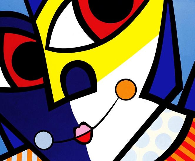 Range of Arts - Romero Britto - Original Artworks - The Clown