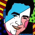 Range of Arts - Romero Britto - Original Portraits Paintings - The Great Lagasse