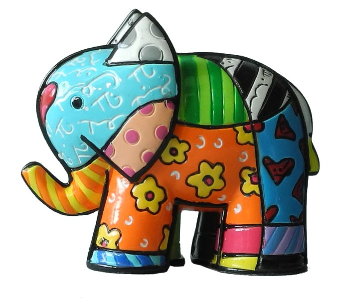Range of Arts - Romero Britto - Sculpture - Mini India