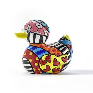 Range of Arts - Sculpture - Romero Britto - Mini Duck Safari