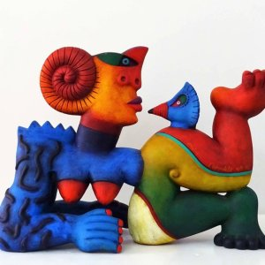Clemens Briels artist sculptures available for sale price on request