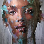 jimmy law contemporary painter south africa portraits oil on canvas brush strokes expressive