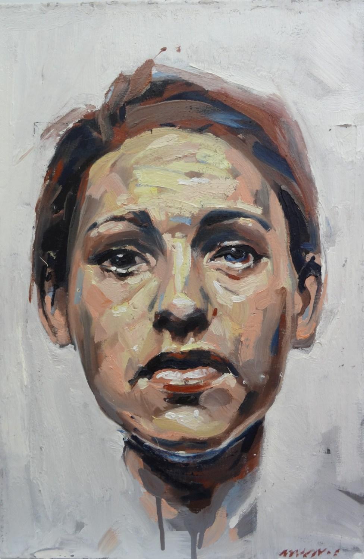 french painter nathan chantob exhibition women portrait annah for sale honfleur