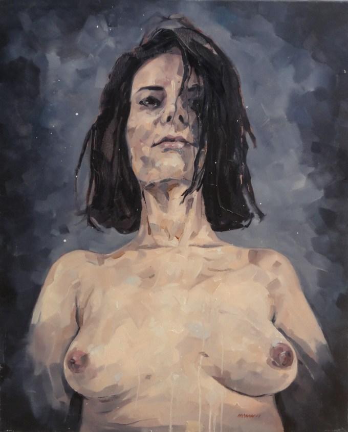 french painter nathan chantob exhibition women portrait for sale honfleur