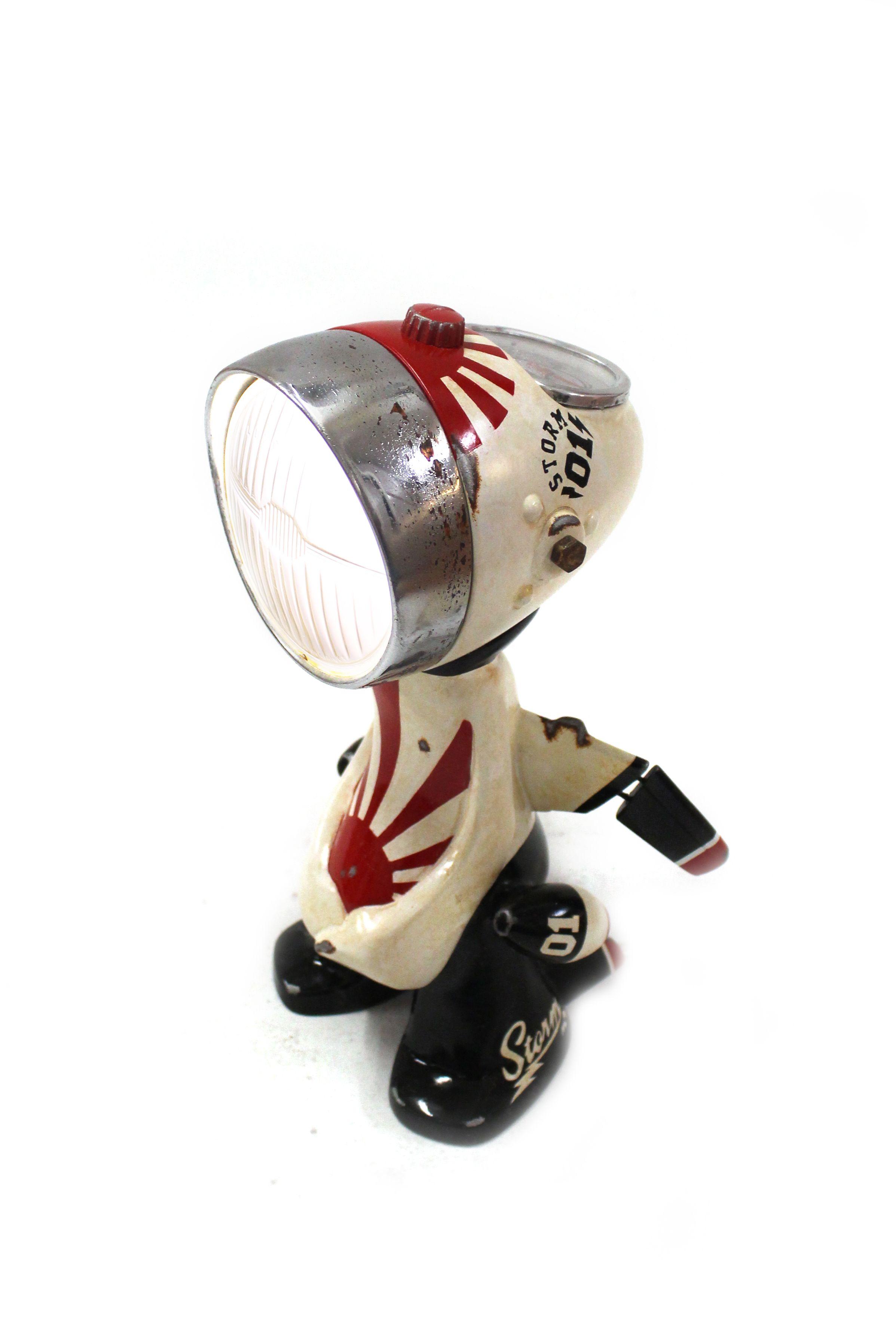 Range of Arts - Sculpture Lampe Robot - Nanan Hiro