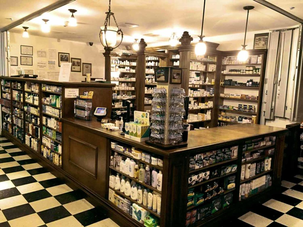 Organic Planet pharmacy counter