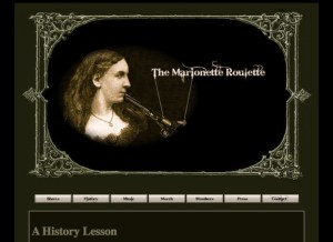 marionette roulette gypsy punk band website